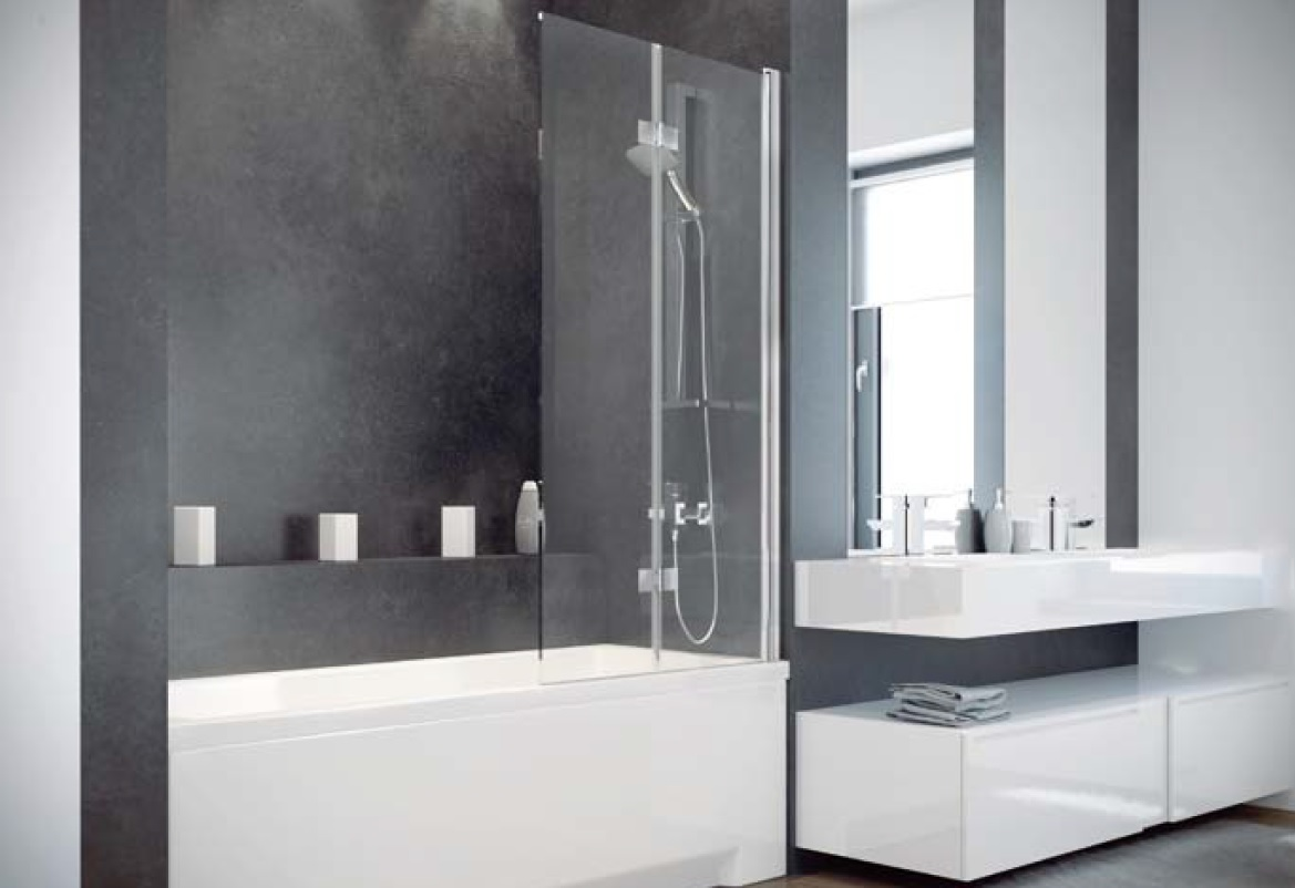 rechteck badewanne optima 150 160 170x70 cm duschwand mono wannentr ger. Black Bedroom Furniture Sets. Home Design Ideas