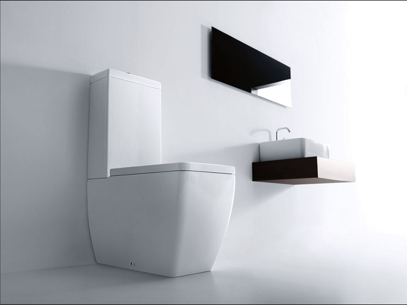 kerasan ego stand wc sp lkasten wc sitz 3217 3181 328801 ebay. Black Bedroom Furniture Sets. Home Design Ideas