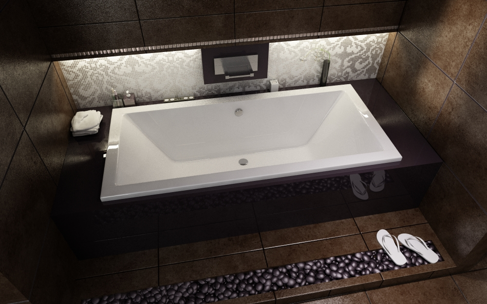 rechteckbadewanne rechteck badewanne wanne piramida quadro 155x70 f e ebay. Black Bedroom Furniture Sets. Home Design Ideas